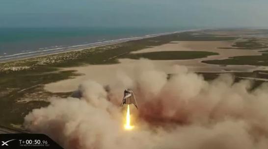 "SpaceX""星舰飞船原型""创造悬浮150米新纪录-Ermain"