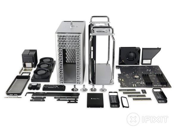 iFixit拆解苹果新Mac Pro-Ermain