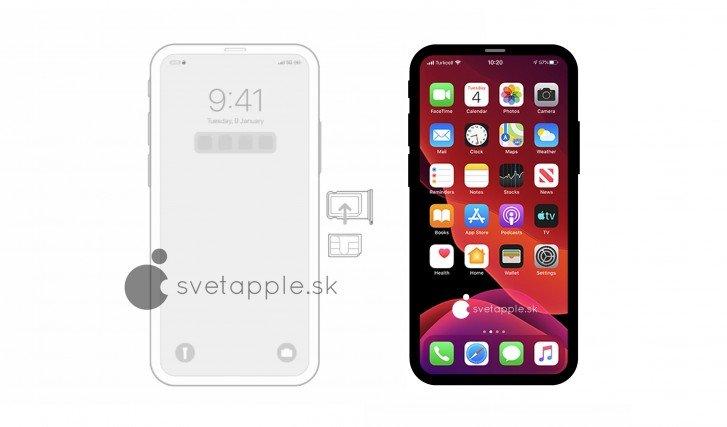iPhone 12 Pro现身:真的没刘海?-Ermain
